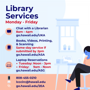 Summer Session 2 Library Services