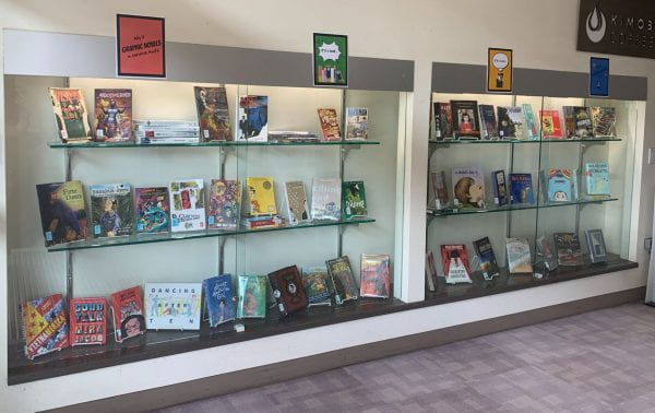 Learning Commons & Library Display: Graphic Novels Month