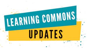 Learning Commons Updates logo